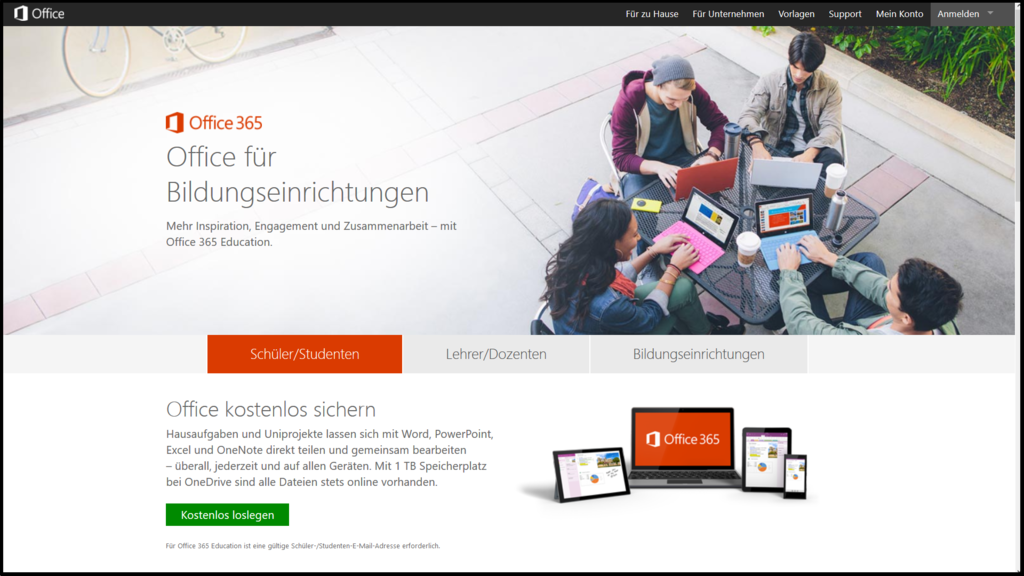 Screenshot - Office 365 Education - 01 Registrierung.png
